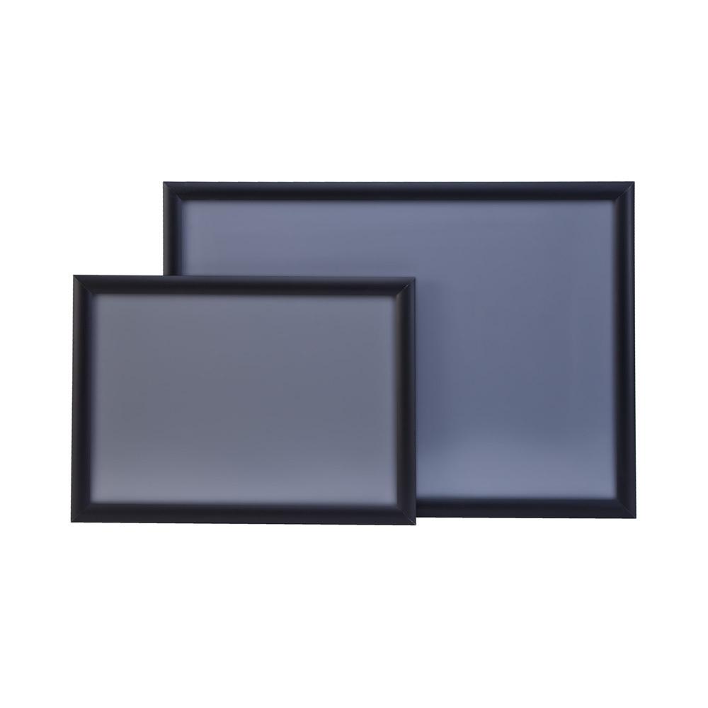 klapprahmen aus aluminium in edelstahloptik din a3. Black Bedroom Furniture Sets. Home Design Ideas